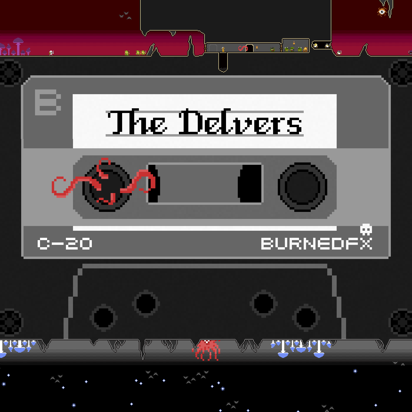 The Delvers - An actual play edited recording of our Labyrinth Lord sessions. logo